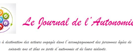 Le Journal de l'Autonomie n°3 : Focus actualités des services du territoire