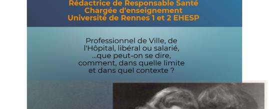 CONFÉRENCE CADRE JURIDIQUE DU PARTAGE D'INFORMATIONS ENTRE PROFESSIONNELS DE L'AUTONOMIE