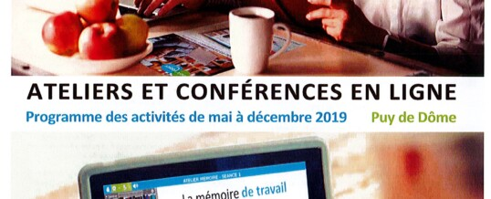 ATELIERS ET CONFERENCES HAPPY VISIO